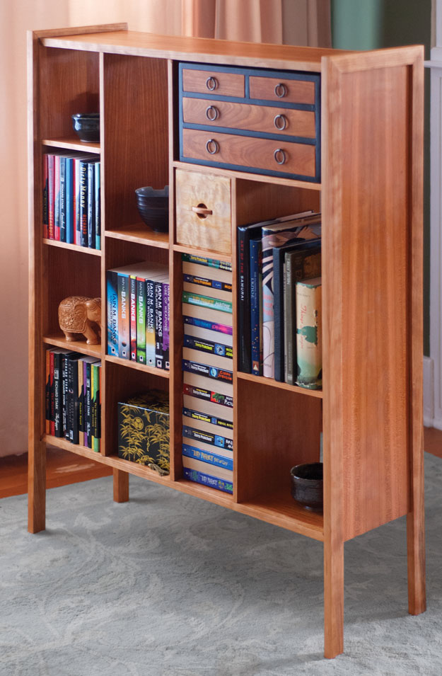 Mid Century Modern Bookcase Popular Woodworking Magazine