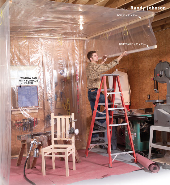 Spray Booth For Waterborne Finishes Popular Woodworking