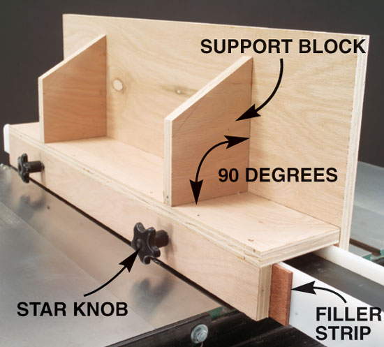 Tall Tablesaw Fence Popular Woodworking Magazine
