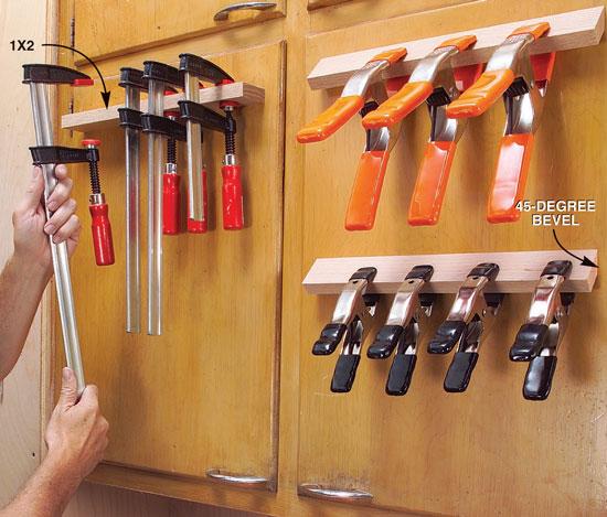 Cabinet Door Clamp Rack Popular Woodworking Magazine
