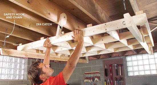 Fold Down Cutting Rack Popular Woodworking Magazine