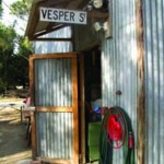 World headquarters. Chris built his workshop and home in the back yard of his parents' home in Australia.