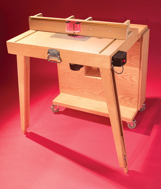 Aw Extra 2 7 13 Mobile Router Center Popular Woodworking Magazine