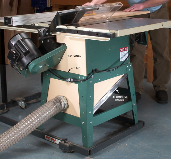 Capture Tablesaw Dust Popular Woodworking Magazine