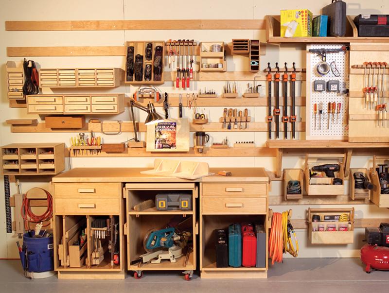 hyperorganize your shop popular woodworking magazine. Black Bedroom Furniture Sets. Home Design Ideas
