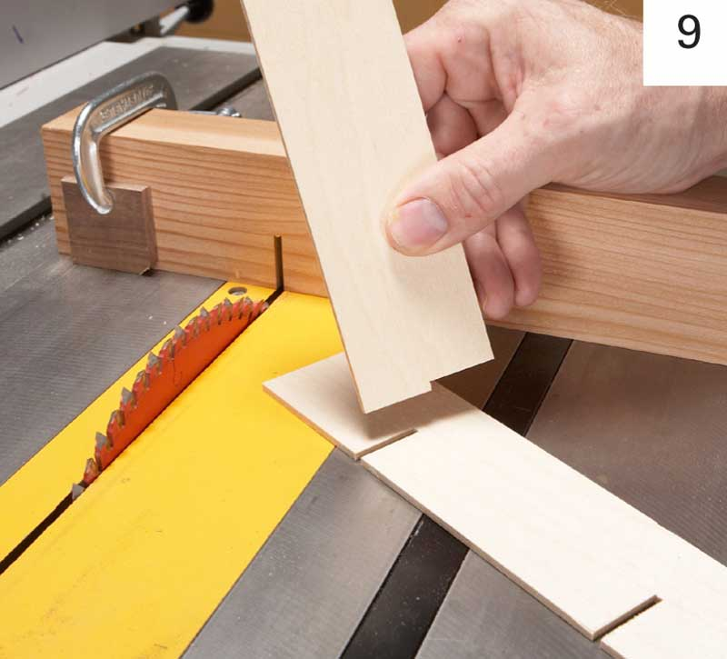 Cut Notches In The Dividers To Make Bridle Joints Using 1 8 Plywood For Are One Saw Kerf Wide If That S Too