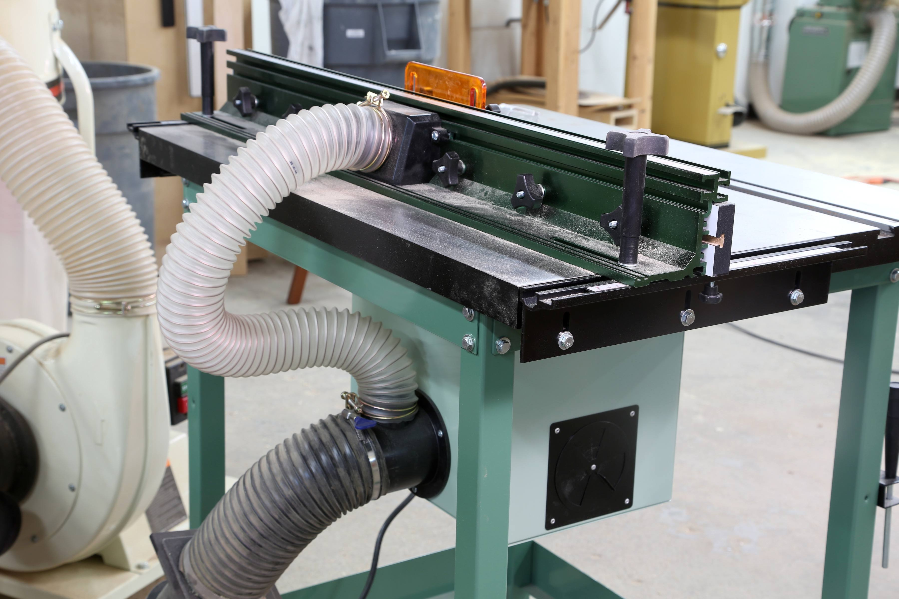 Take A Look At The Excalibur Deluxe Router Table Kit
