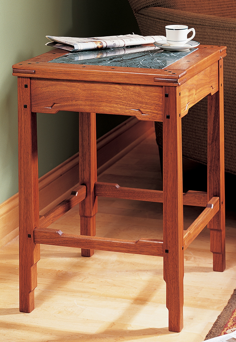 Greene and Greene-Style Side Table | Popular Woodworking ...