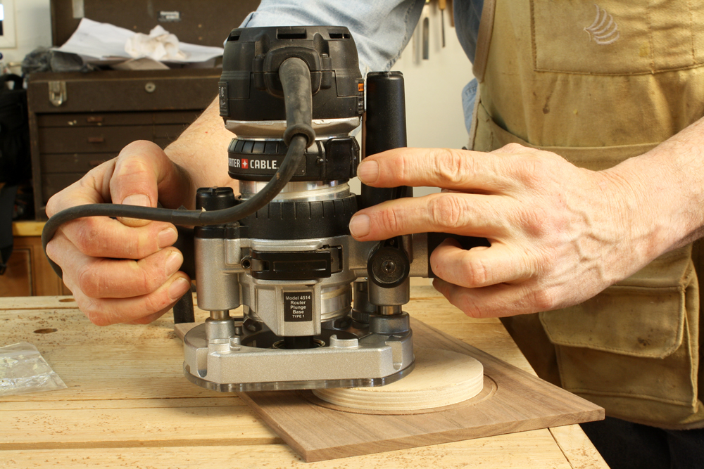 Plunge Router Depth Adjustment Trick Popular Woodworking Magazine