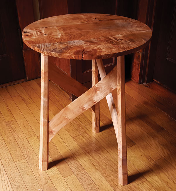 Arts Crafts Occasional Table Popular Woodworking Magazine