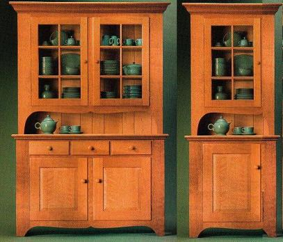 Next Projects Twin Kitchen Hutches Popular Woodworking