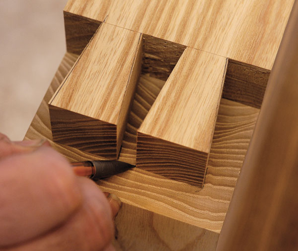 Make Large Precision Dovetails