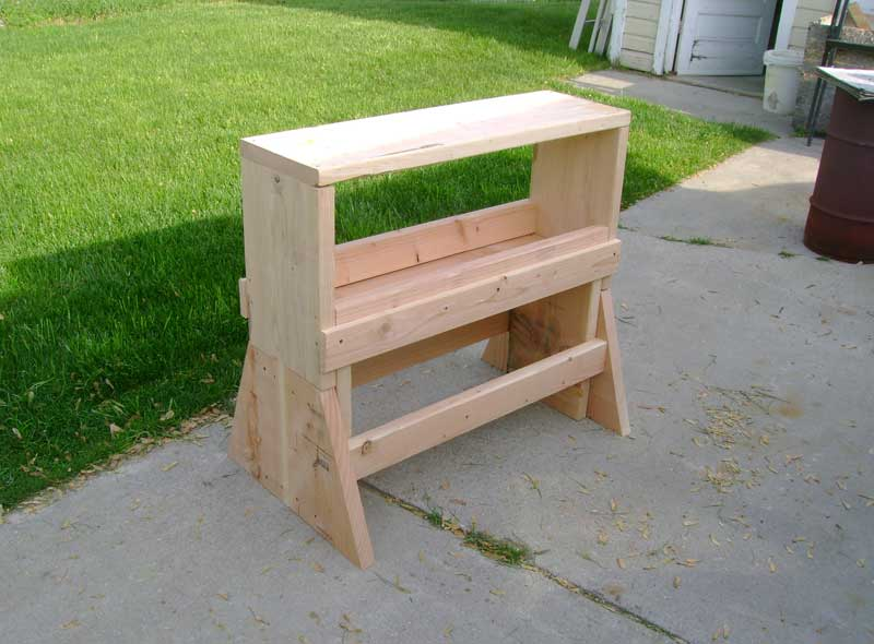 Chad S Sawhorse Workbench Popular Woodworking Magazine