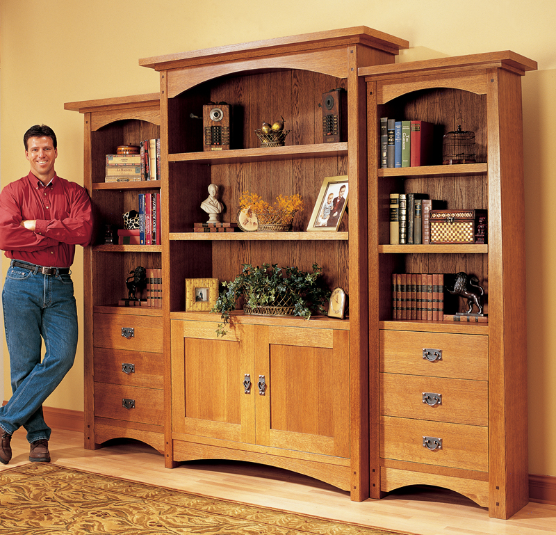 Craftsman Bookcase (AW) - Popular Woodworking Magazine