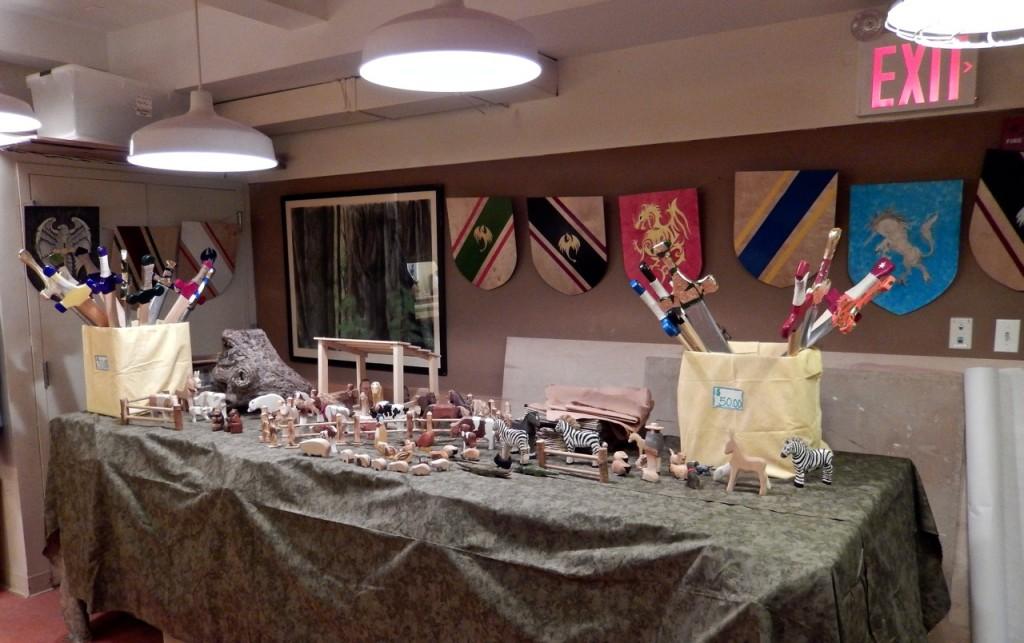 Woodcraft for sale at Rudolf Steiner School Fall fair