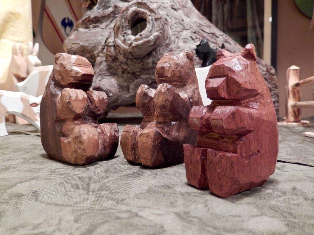 Wooden animals Rudolf Steiner Fall fair 1