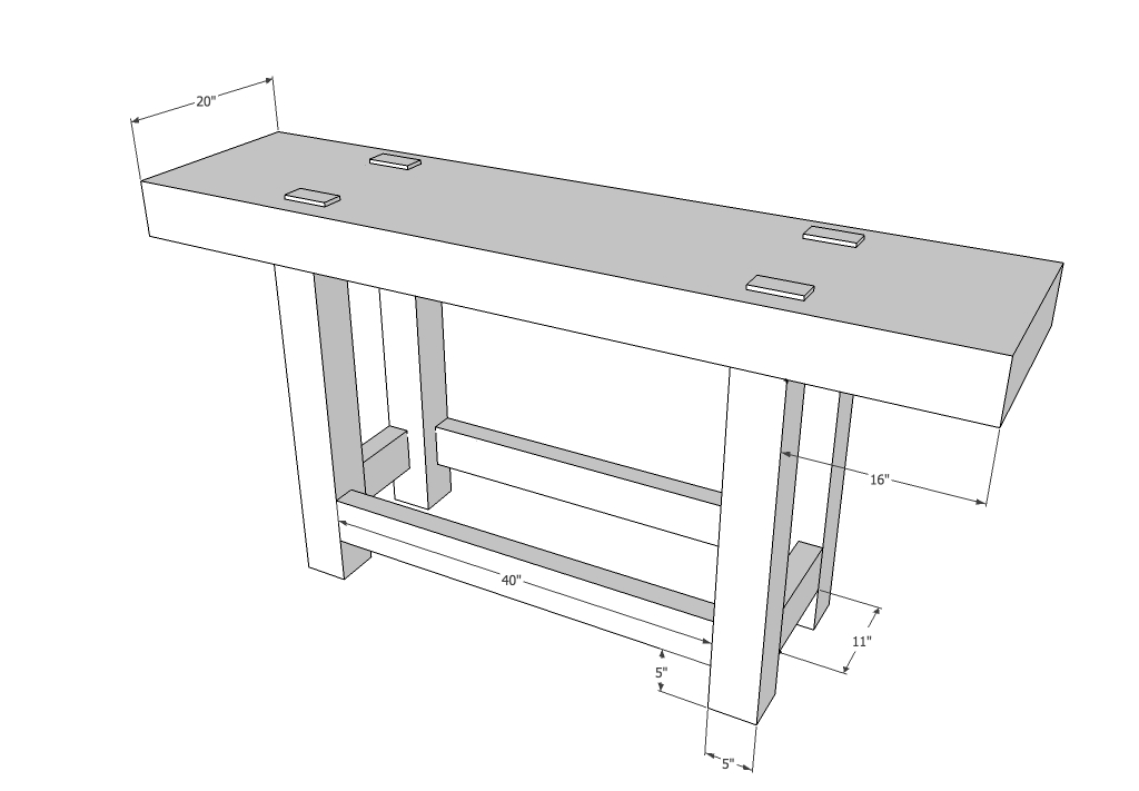 Workbenches Balancing The Base And Top