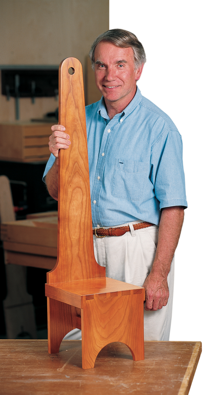 Dovetailed Step Stool Popular Woodworking Magazine