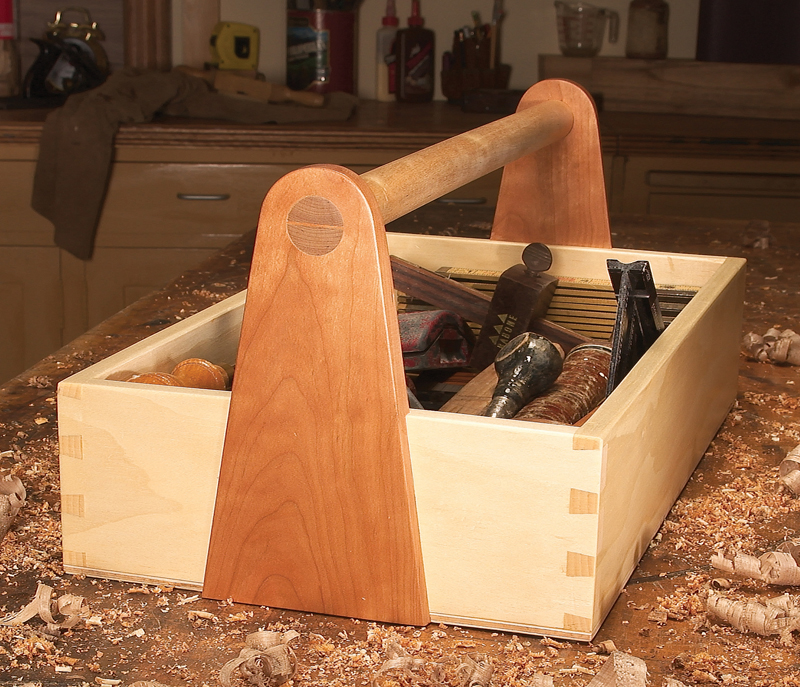Dovetailed Tool Box Popular Woodworking Magazine