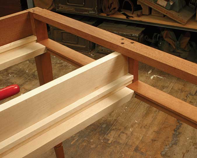 drawer rails