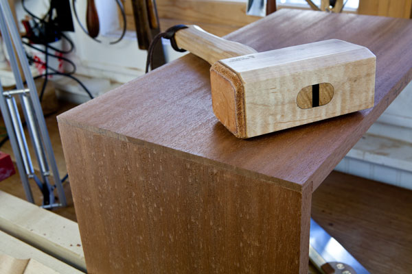 what is a blind dovetail joint