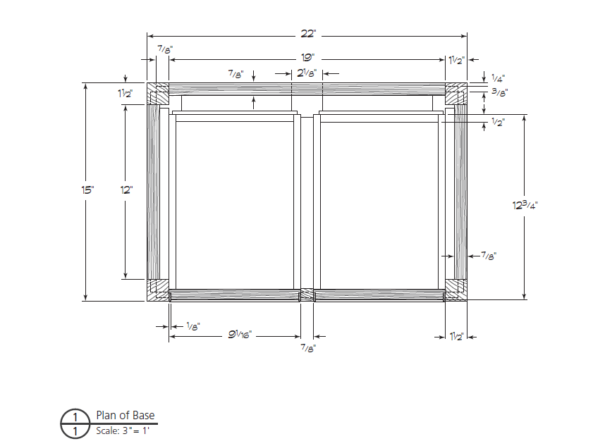Full Scale Drawing Plans For Woodworking Popular Woodworking Magazine
