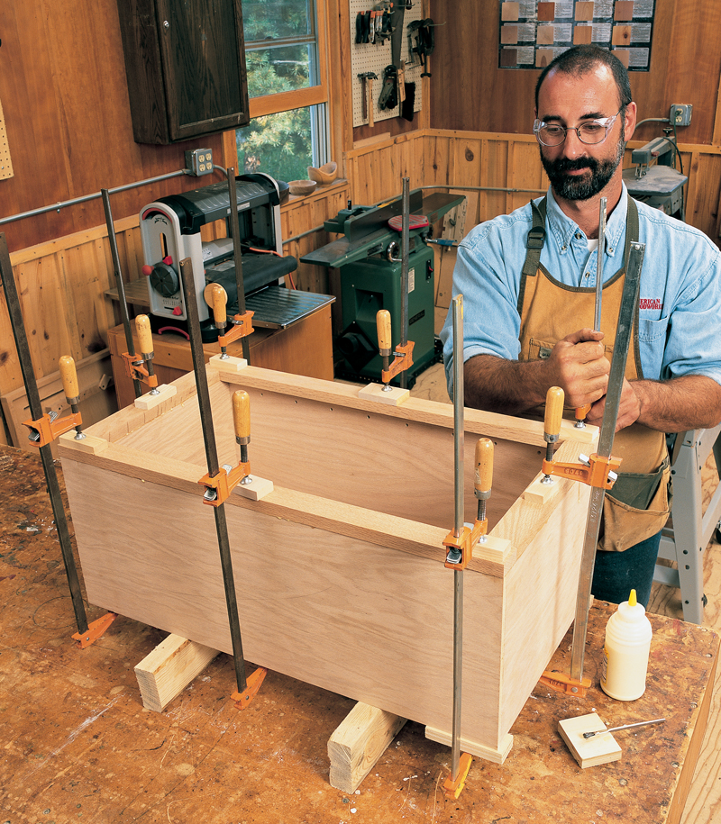 How To Make A Kitchen Cabinet: Popular Woodworking Magazine