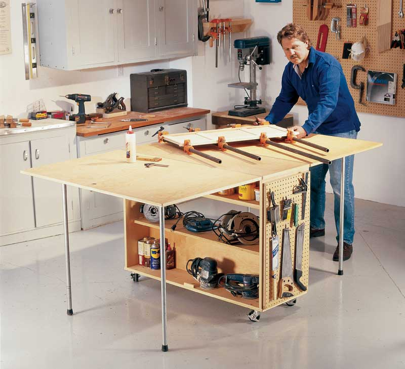 AW Extra 5/29/14 – Folding Worktable