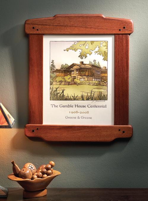 Greene & Greene Frame | Popular Woodworking Magazine