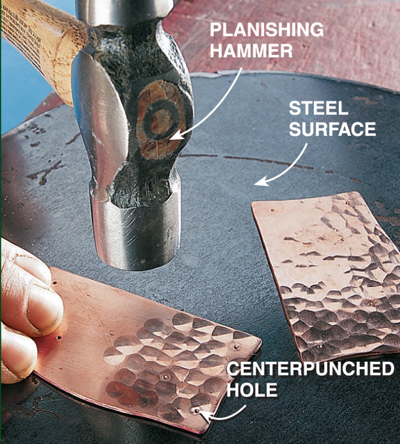Hammer Your Own Copper Hardware