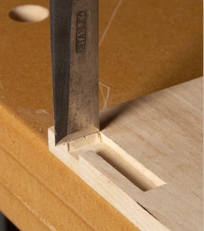 Installing Knife Hinges Popular Woodworking Magazine