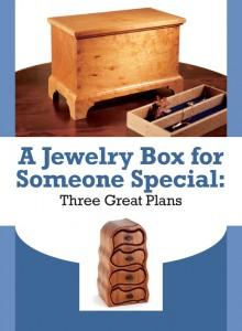 Free DIY jewellery box plans to download!