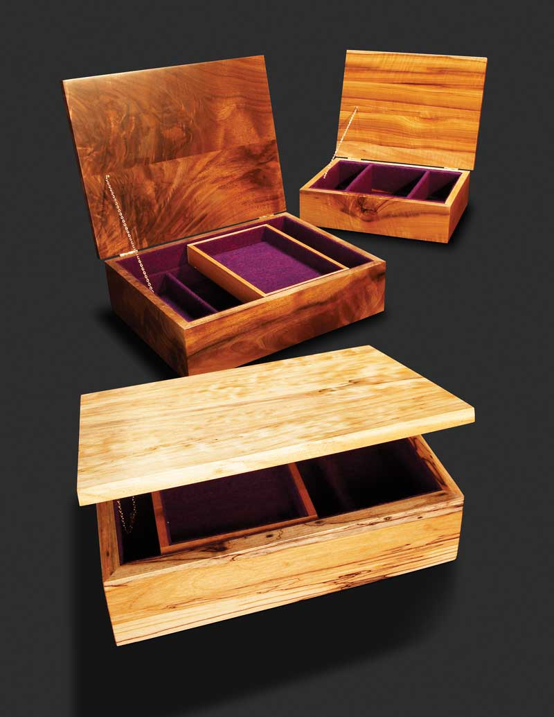Make A Pure Simple Jewelry Box Popular Woodworking Magazine