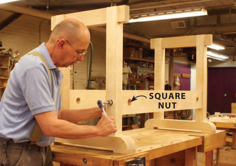Master Cabinetmaker S Bench Popular Woodworking Magazine