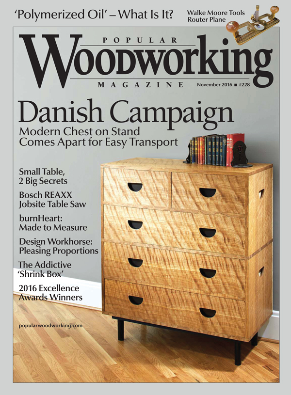Popular Woodworking Magazine November 2016 Popular Woodworking