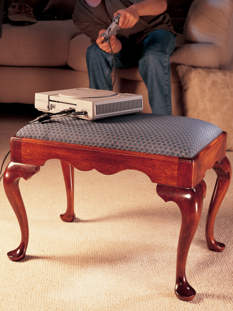 Queen Anne Footstool Amp Cabriole Leg Popular Woodworking