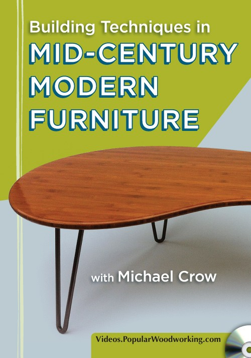 Five Lessons From Mid Century Modern Furniture Popular Woodworking