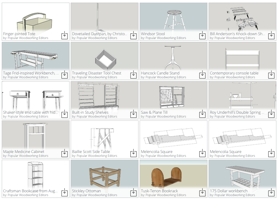 Sketchup Or Fusion 360 Popular Woodworking Magazine