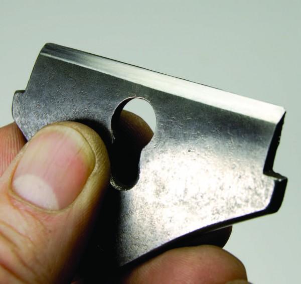 Flattened lever cap for Stanley 151 spokeshave