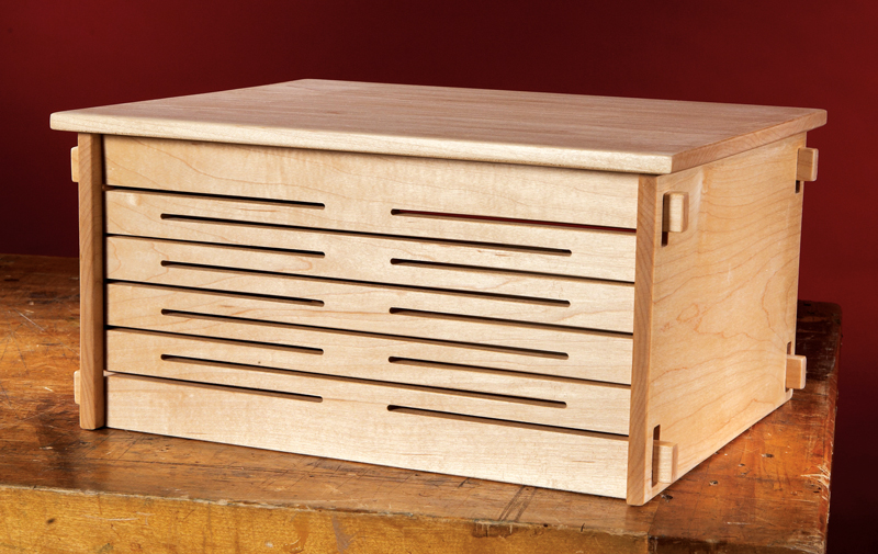 CNC Spring Joint Box | Popular Woodworking Magazine