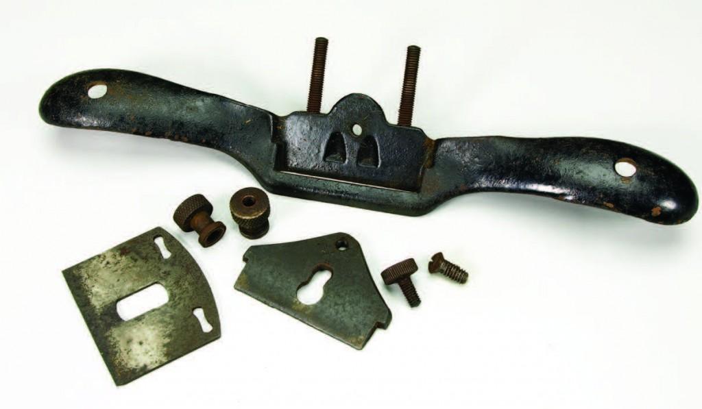 Stanley metal spokeshave in parts