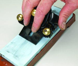 Sharpening a vintage Stanley spokeshave blade