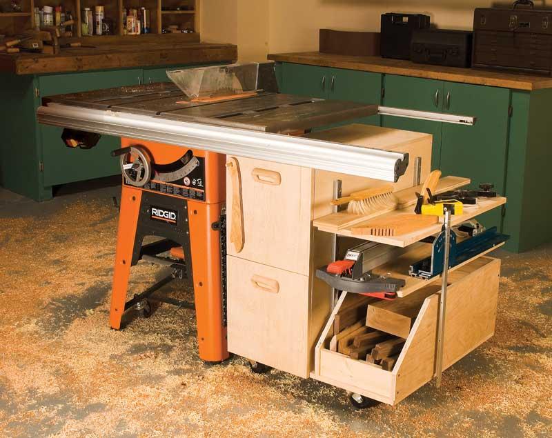 Aw Extra 10 31 13 Tablesaw Storage Cabinet Popular