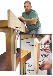 Rock Solid Bench Support Popular Woodworking Magazine