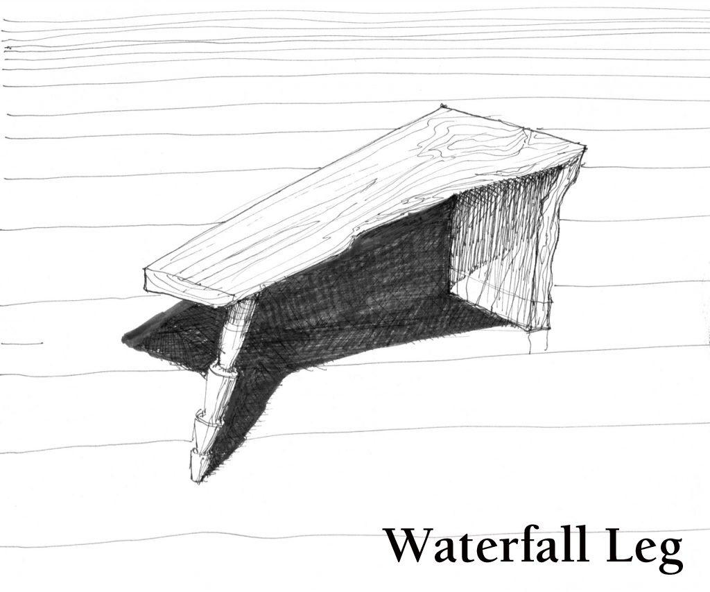 Waterfall leg
