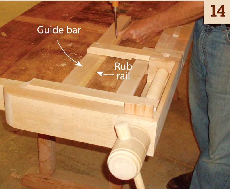 Wooden Tail Vise 14