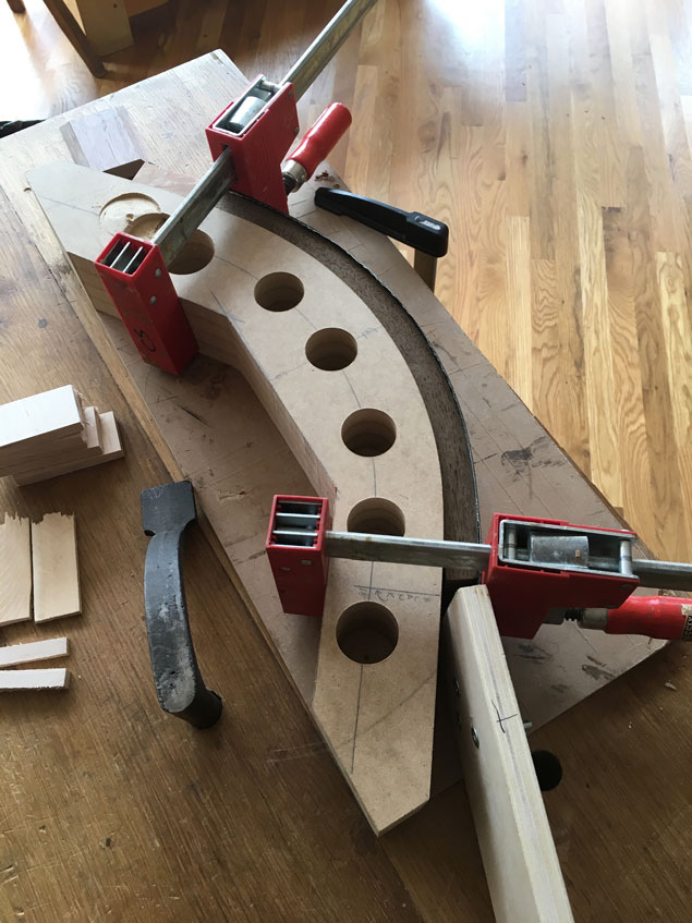 Notes On A Steam Bending Jig Popular Woodworking Magazine