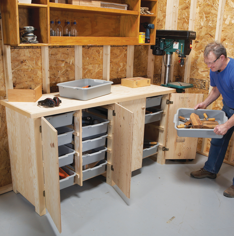 Aw Extra Big Capacity Storage Cabinet Popular Woodworking Magazine