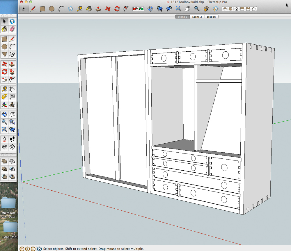 how to use google sketchup for woodworking