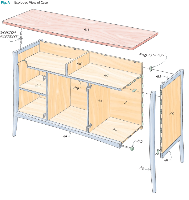 Cherry Sideboard Popular Woodworking Magazine